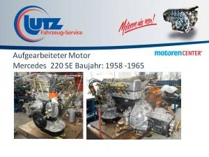 Generalüberholter Mercedes Motor