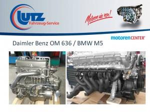 Überholte Motoren Daimler / BMW