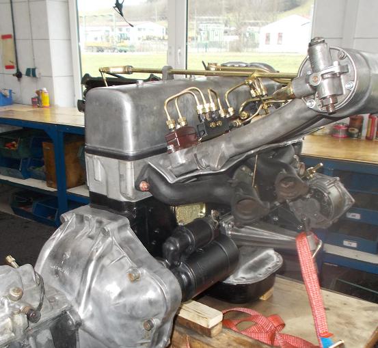 Motorenrevision Mercedes