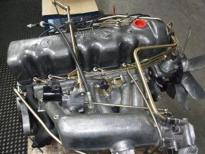 Motor überholt Mercedes